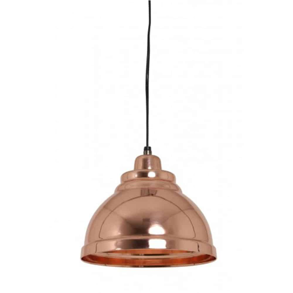 Yill rose gold hanging lamp