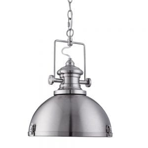 industrial satin silver david james lighting