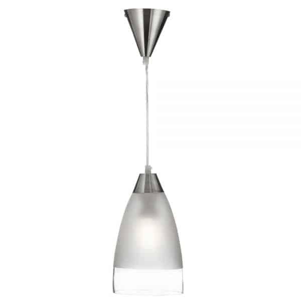 satin silver pendant david james lighting