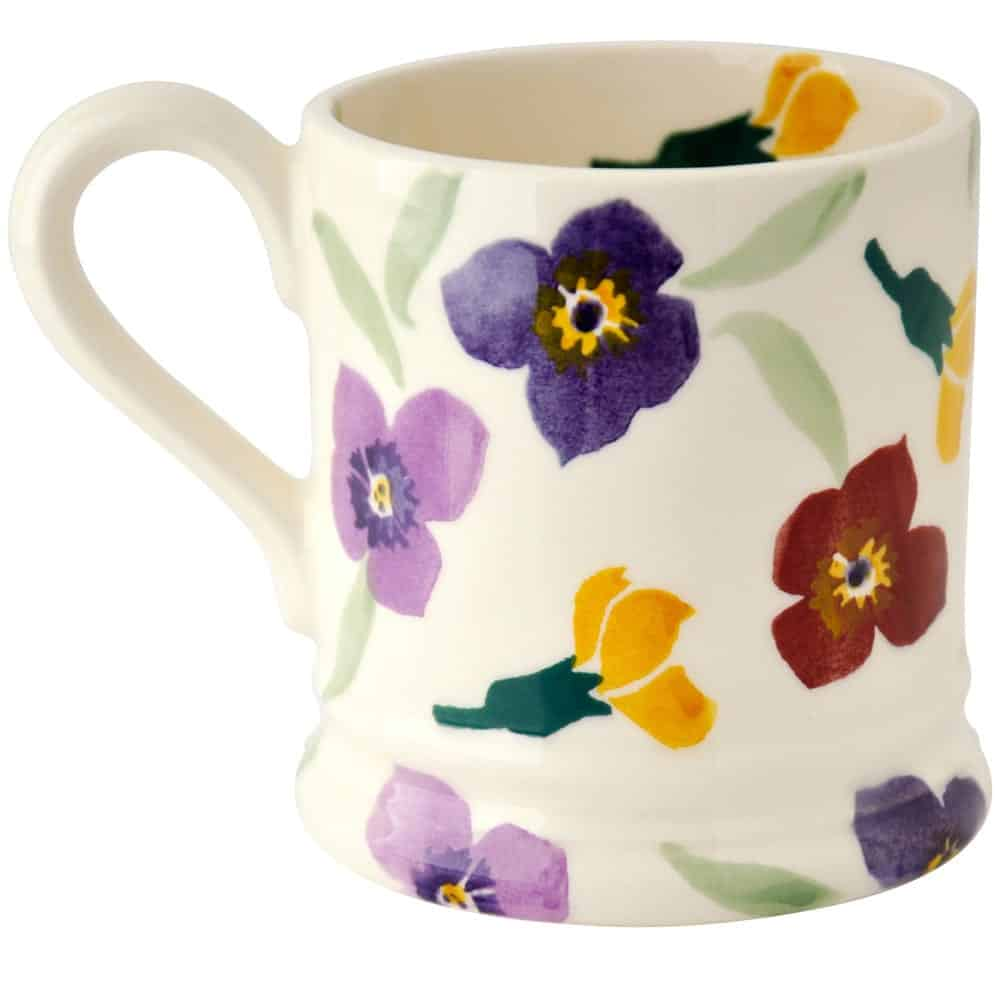 Wallflower 1 2 pint mug david james kitchens for David james kitchen designs