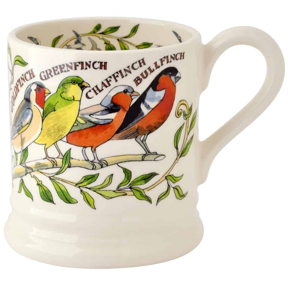 Garden birds 1 2 pint mug david james kitchens for David james kitchen designs