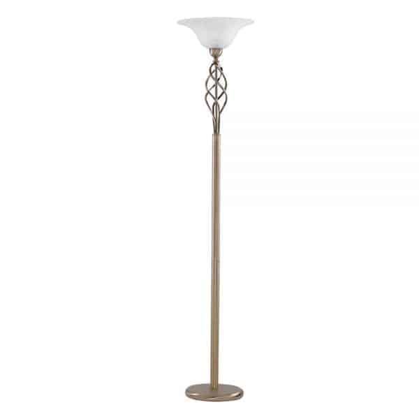 marble glass uplighter