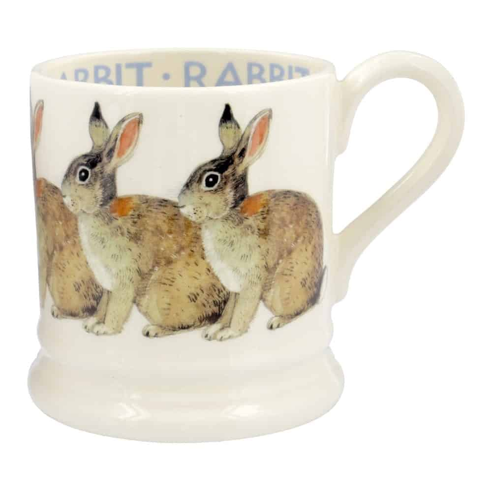 Rabbit 1 2 pint mug david james kitchens for David james kitchen designs