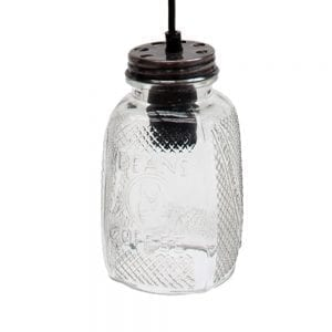 coffee jar light
